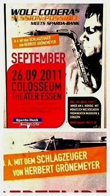 Jazz-Konzert Plakat